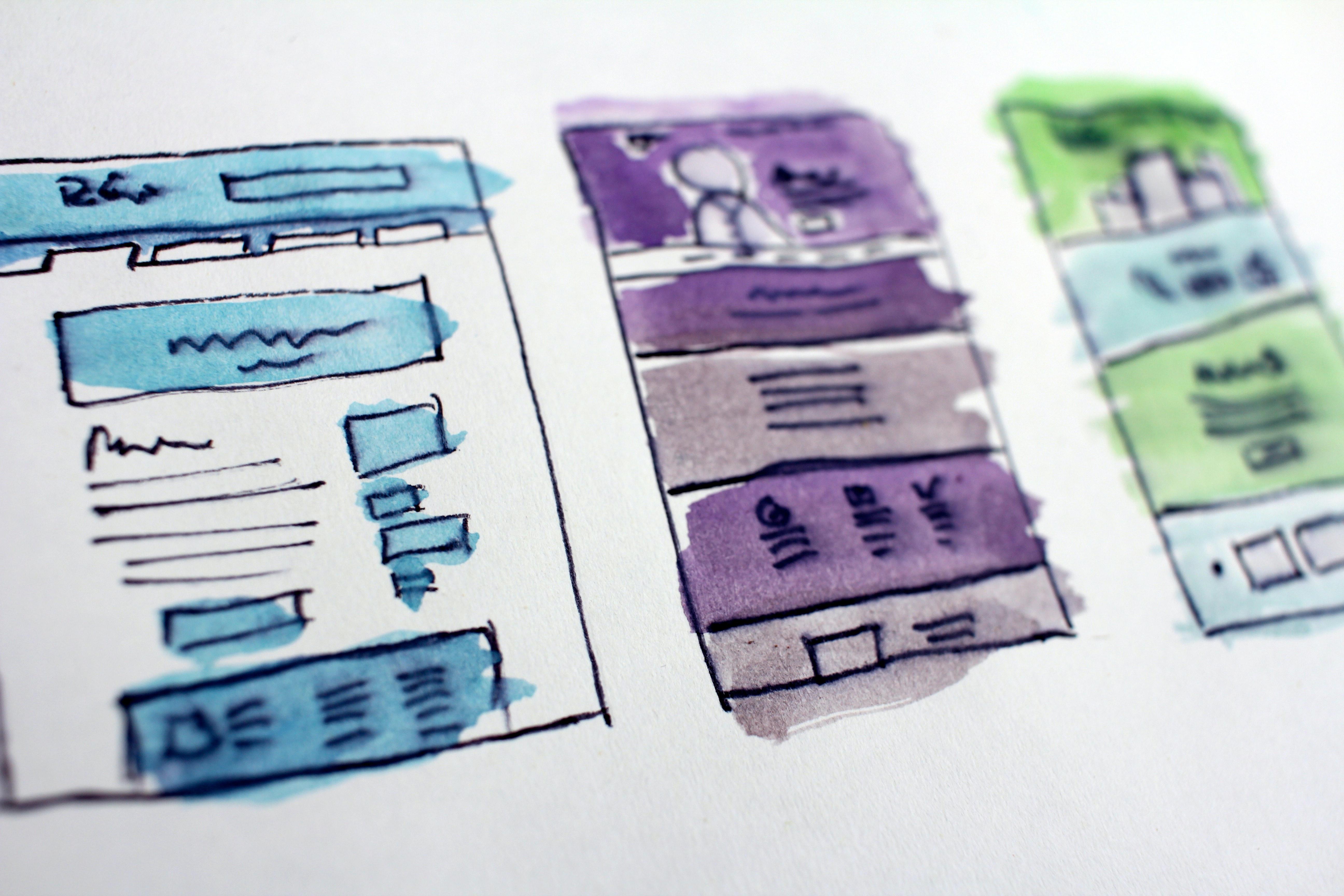 website design layouts