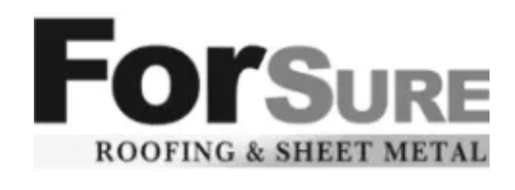 For Sure Roofing & Sheet Metal Company Logo