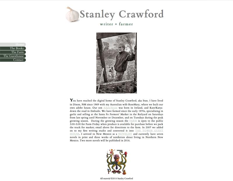 Stan Crawford website
