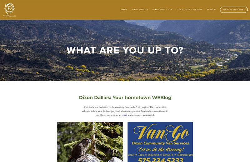 Dixon Dallies website