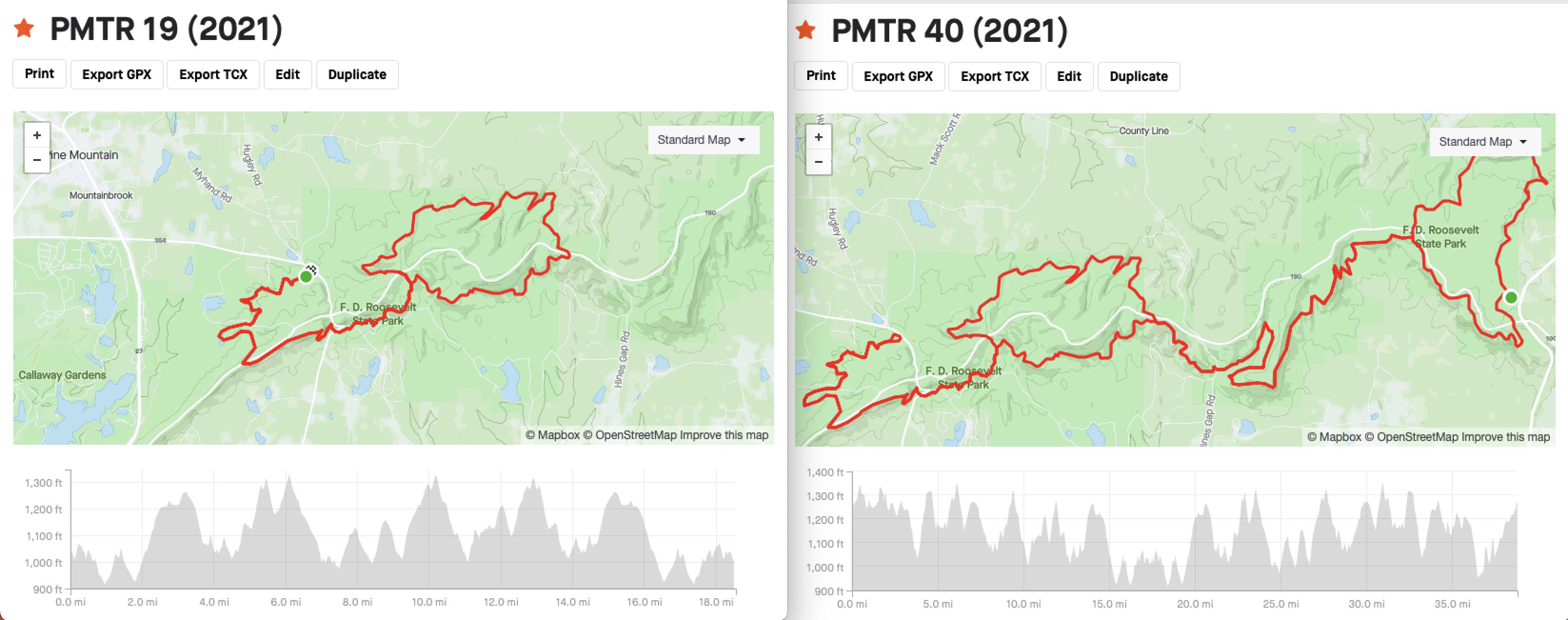 Pine Mountain Trail Run