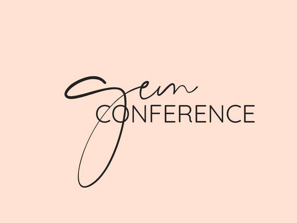Gem Conference Logo