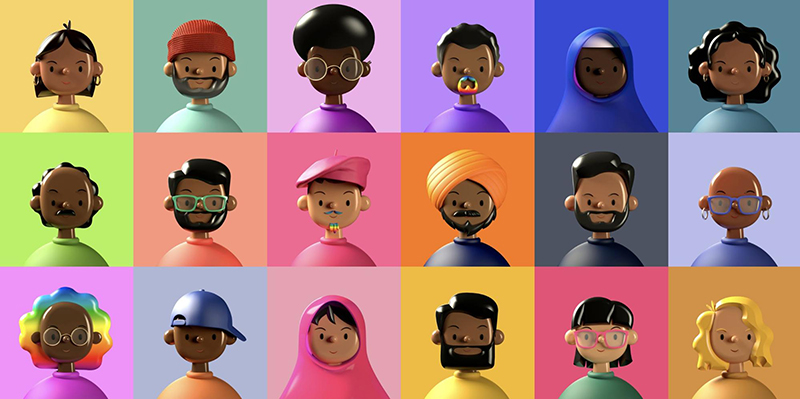 3d avatars