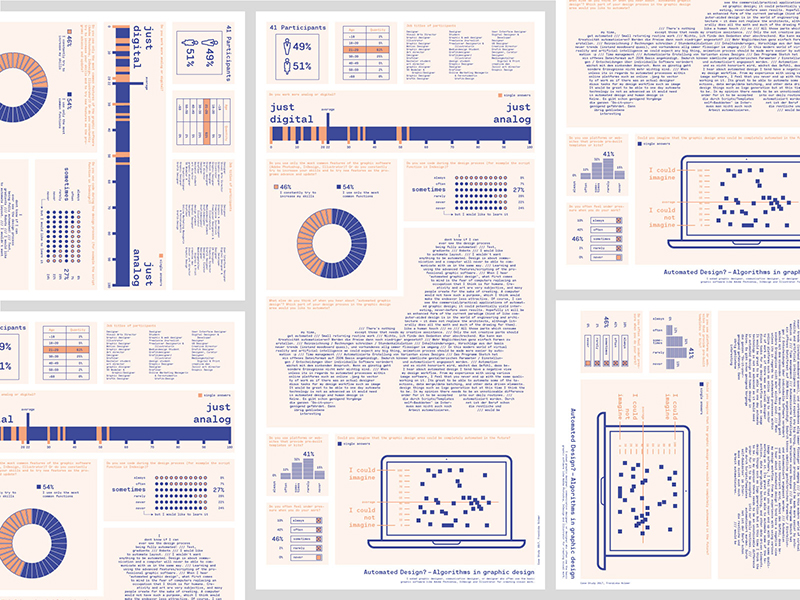 Infographic duotone example