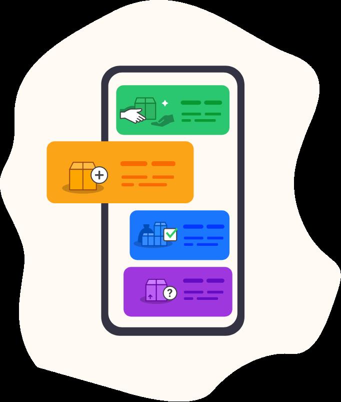 illustration de l'application kotscan App