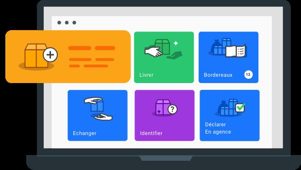illustration de l'application kotscan web