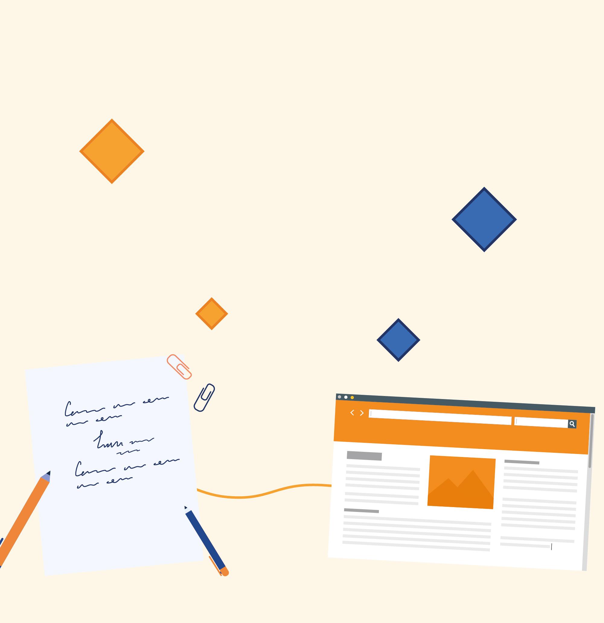 Illustration Blog et news