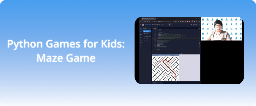 Python Turtle Games for Kids: Maze Game