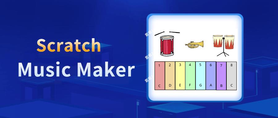 Best Scratch Coding Game: Music Maker