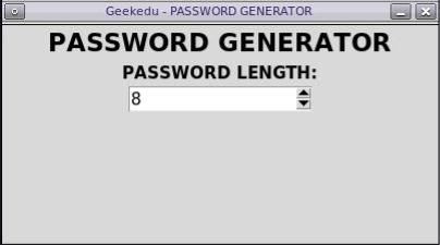 Python Password Generator: