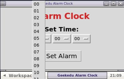 Python Alarm Clock