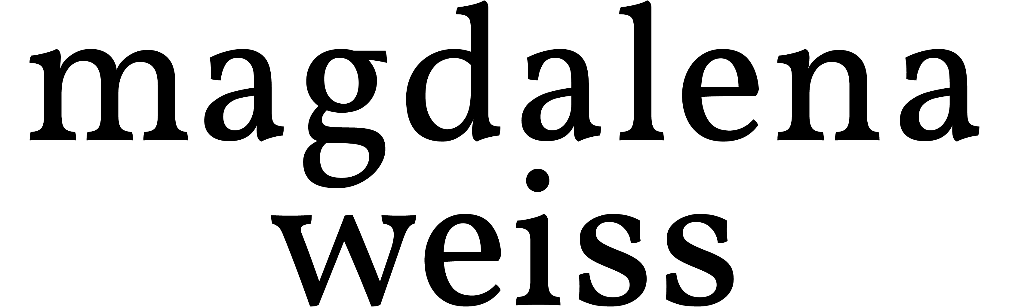 Magdalena Weiss Logo