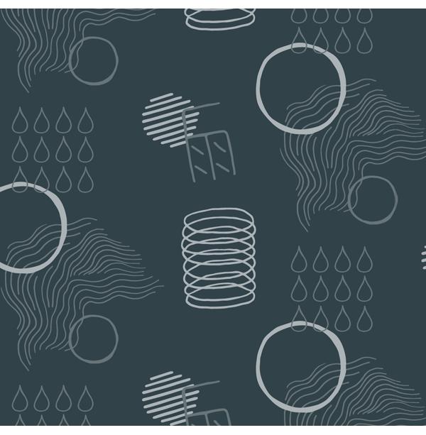 Ebb&Flow Keg - Brand Identity (Pattern) by Magdalena Weiss