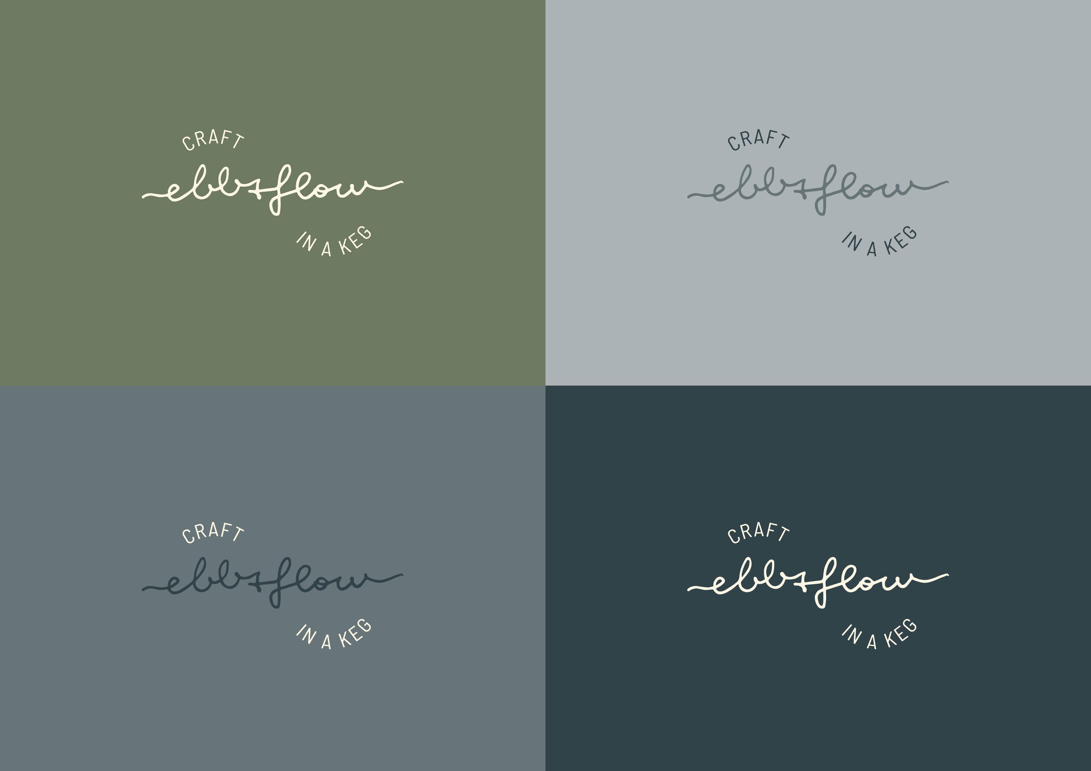Ebb&Flow Keg - Brand Identity (Logo) by Magdalena Weiss