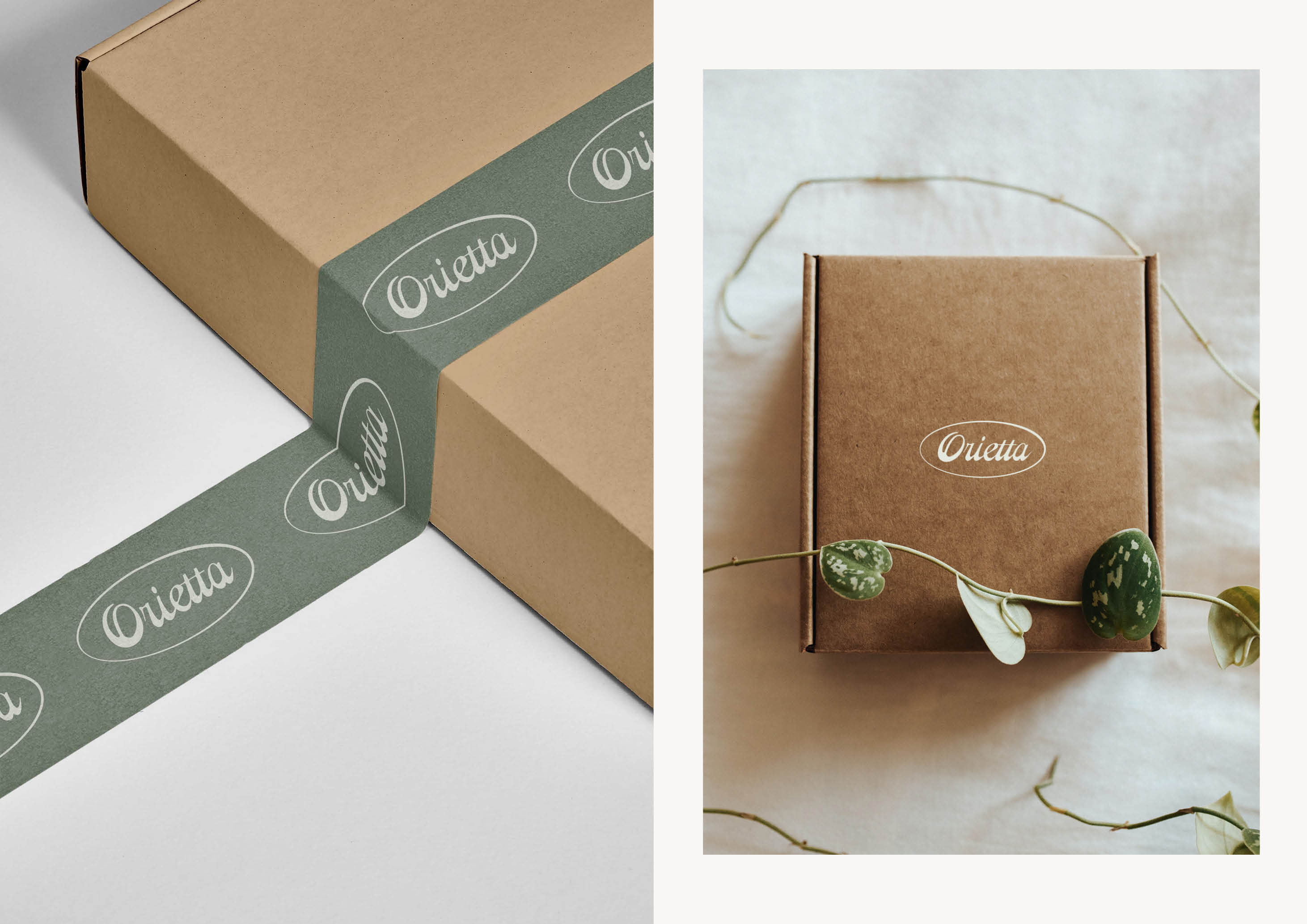 Orietta (Chile) brand identity by Magdalena Weiss