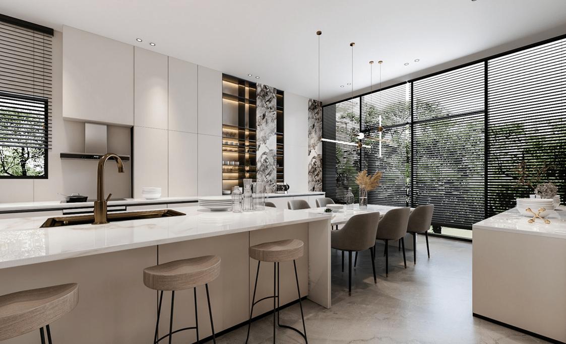 modern kitchen from china