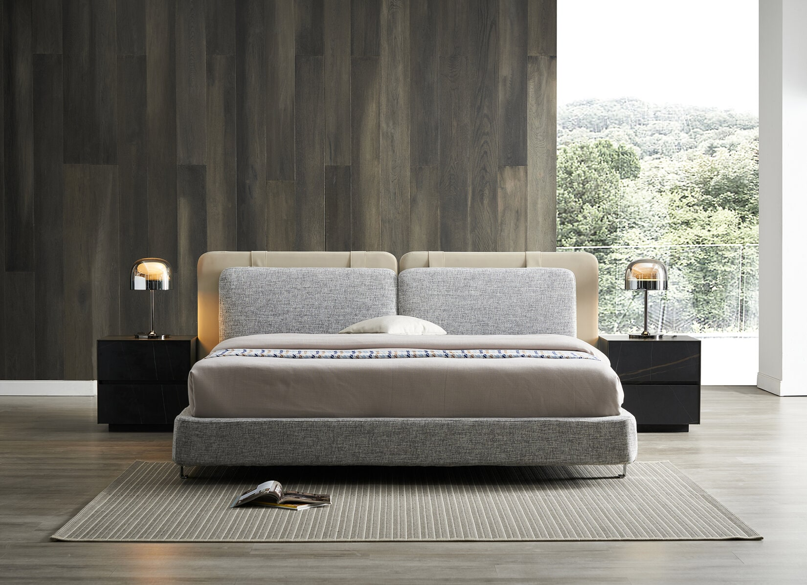 a king sized bed from China