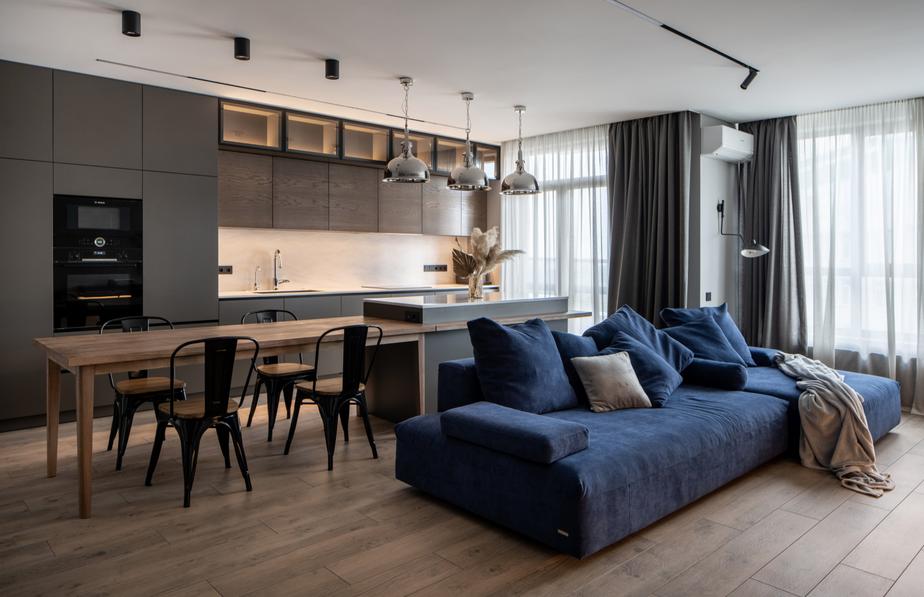 a stunning modern sofa