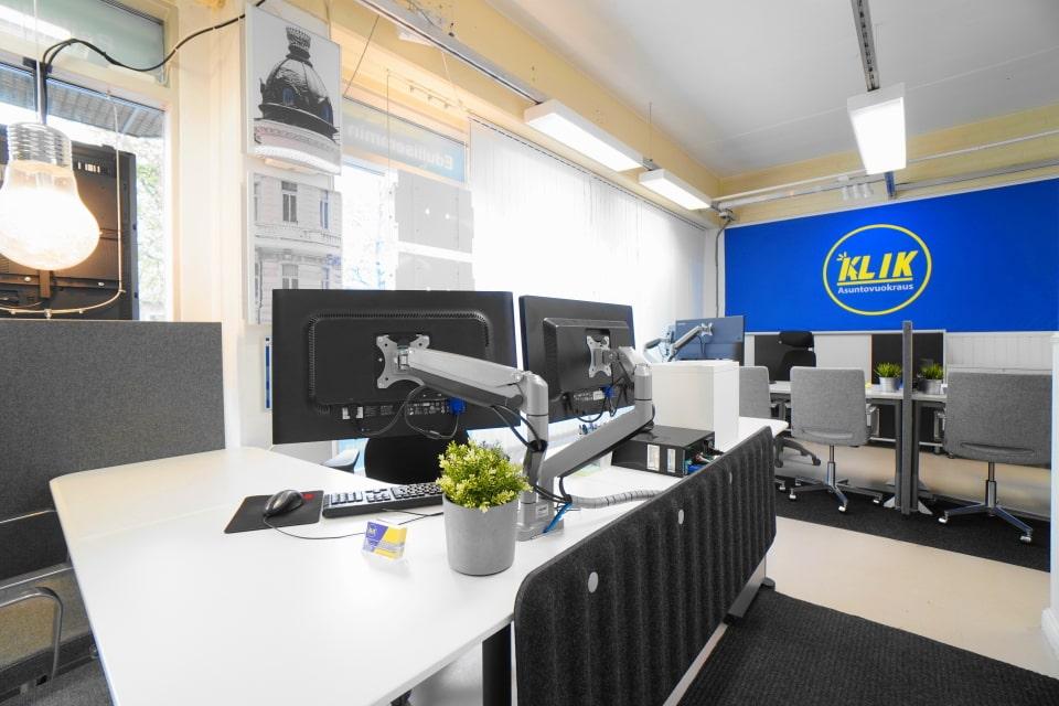 Kuva Klikin toimistosta