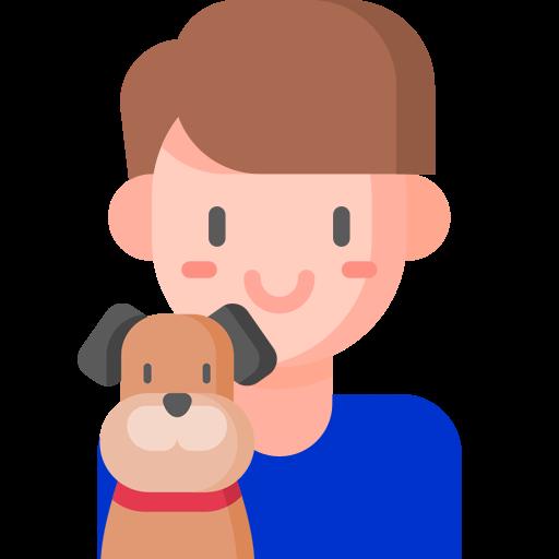 Koira ja mies emoji