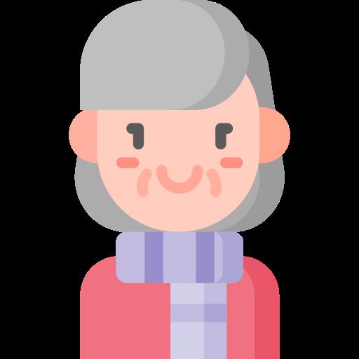 Vanhempi nainen emoji