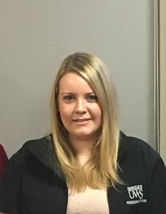Image of Kiera Austin winner of the Community Action award