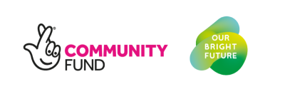 Our Bright Future and National Lottery Community fund logo