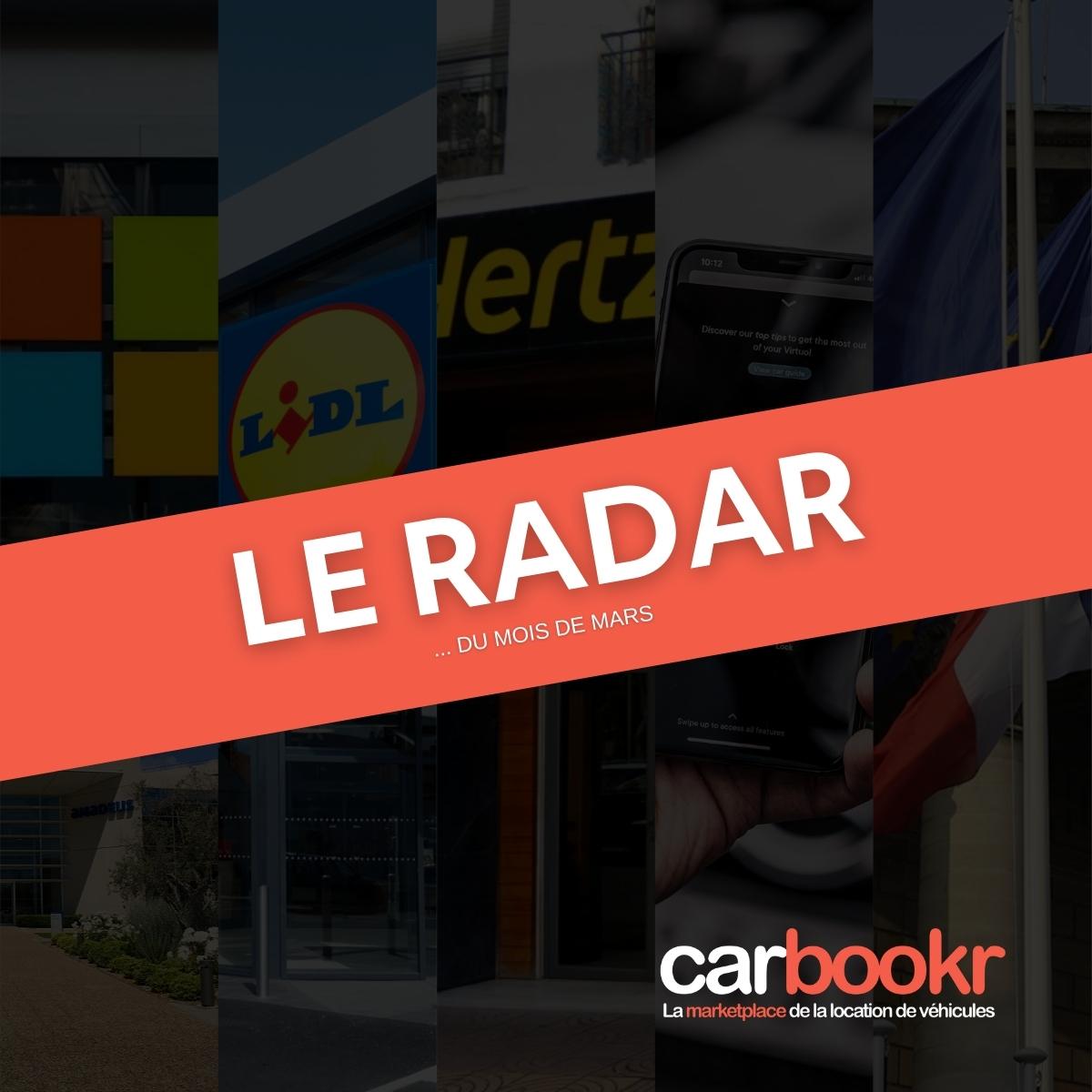 Le radar Carbookr