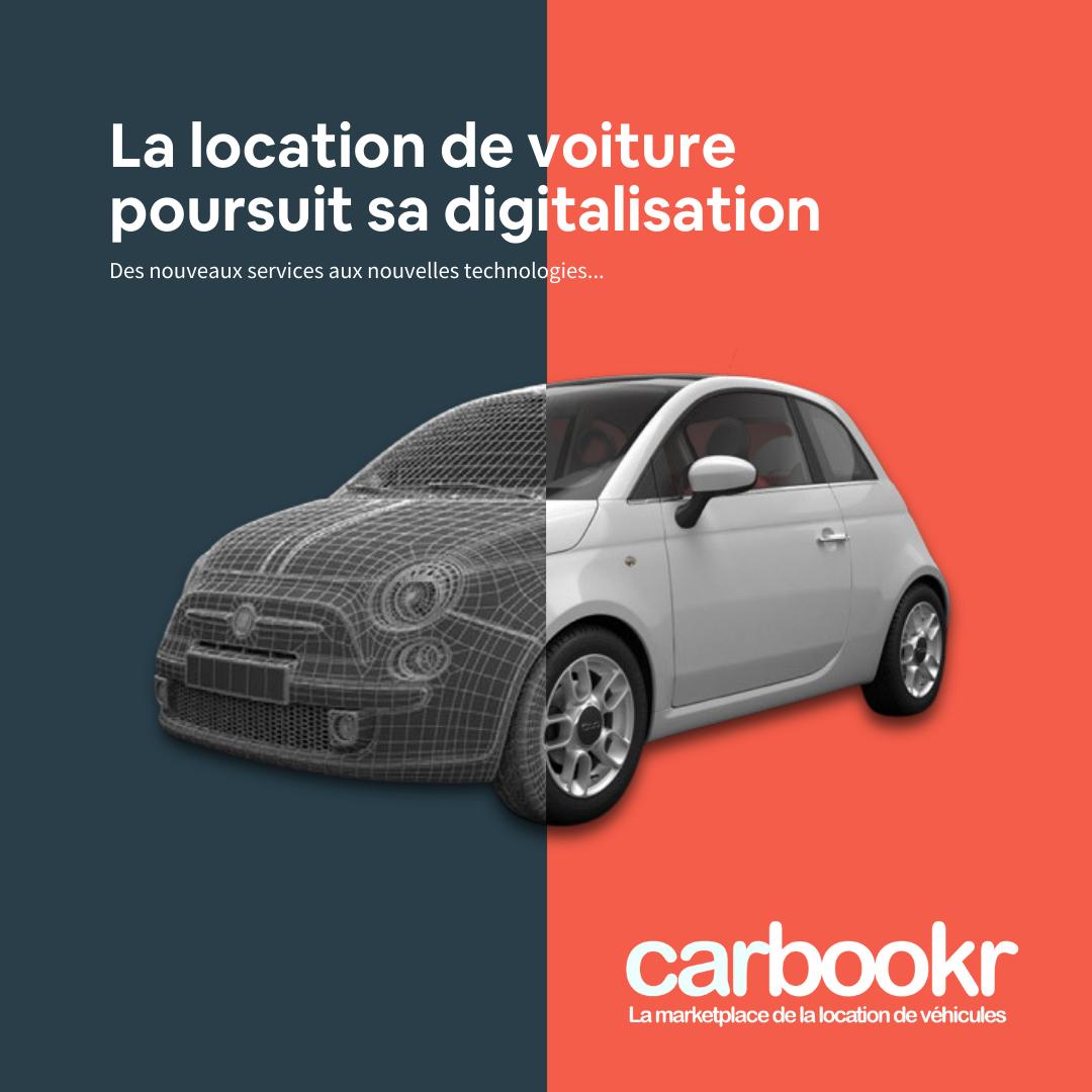 Location de voiture et digitalisation