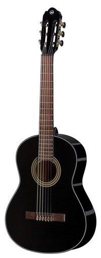 GEWA Classical guitar Student black 3/4