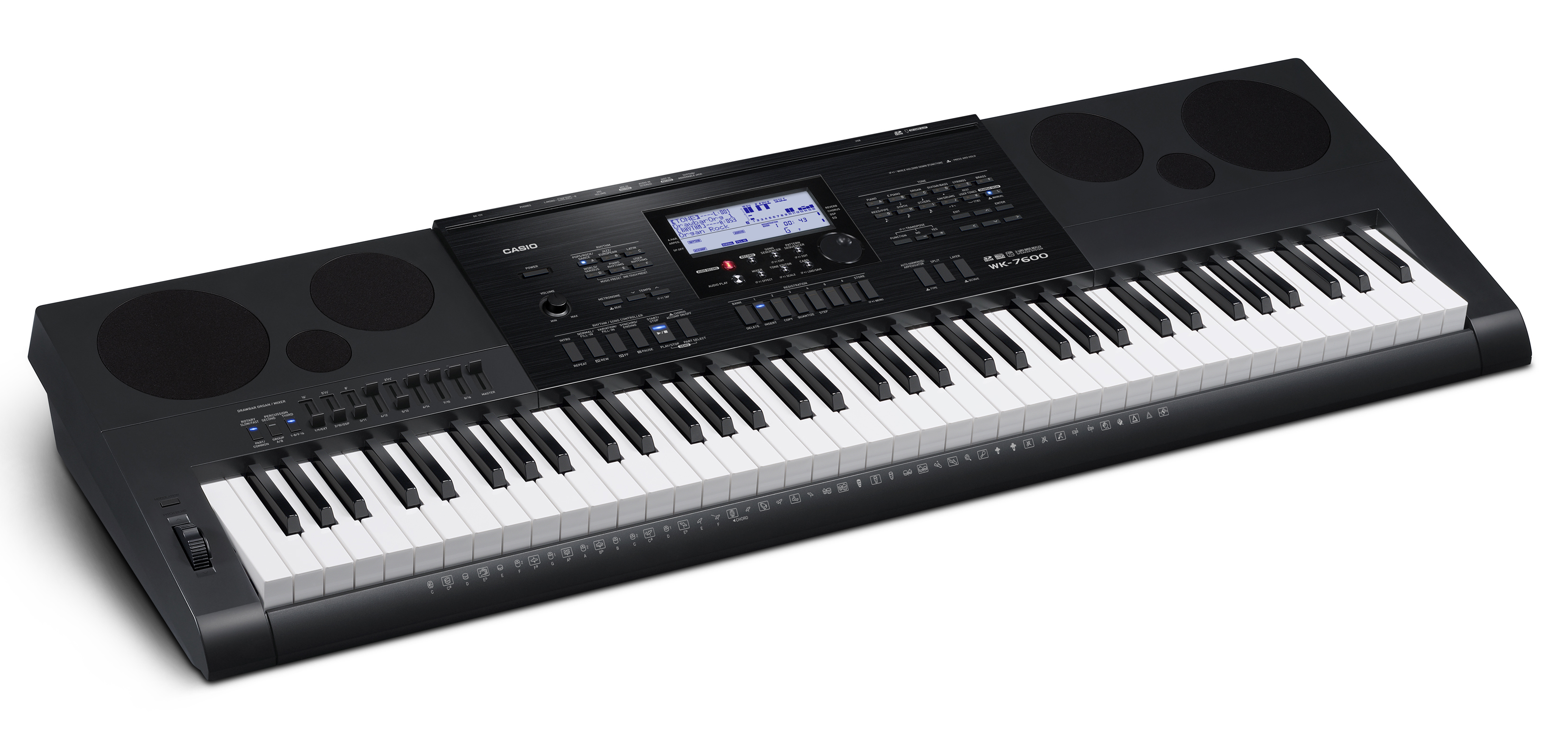 Casio WK-7600 Keyboard Workstation