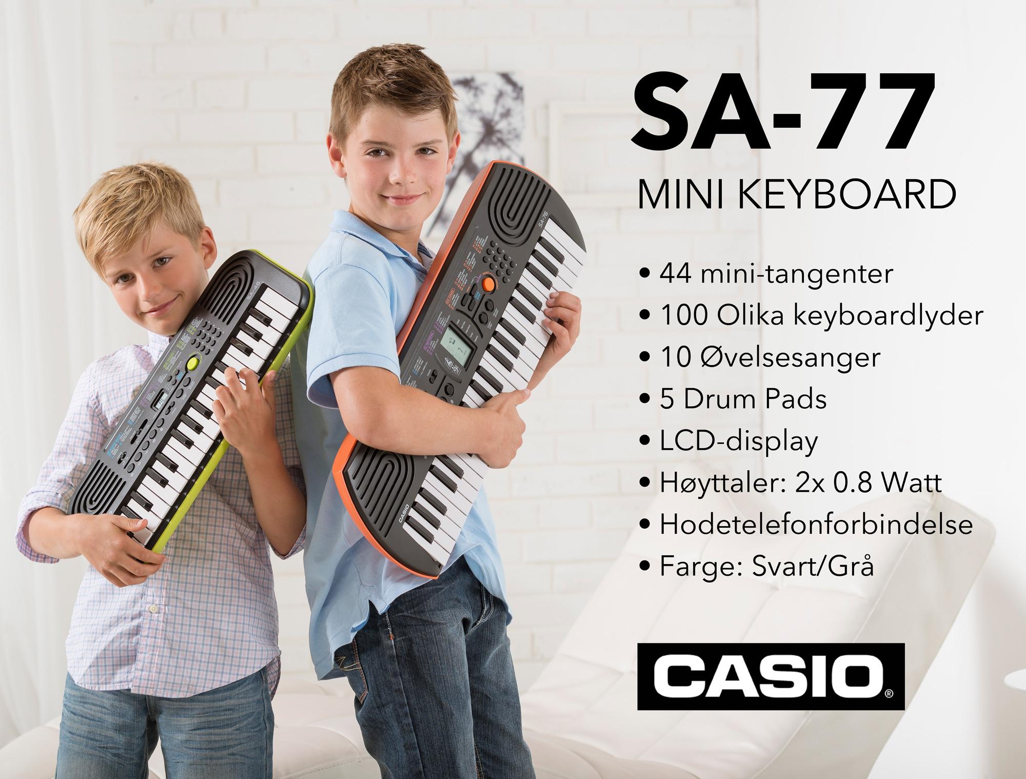 Casio SA-77 Keyboard