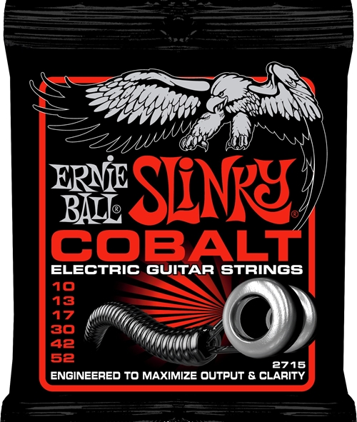 Skinny Top Cobalt Ernie Ball 10-52