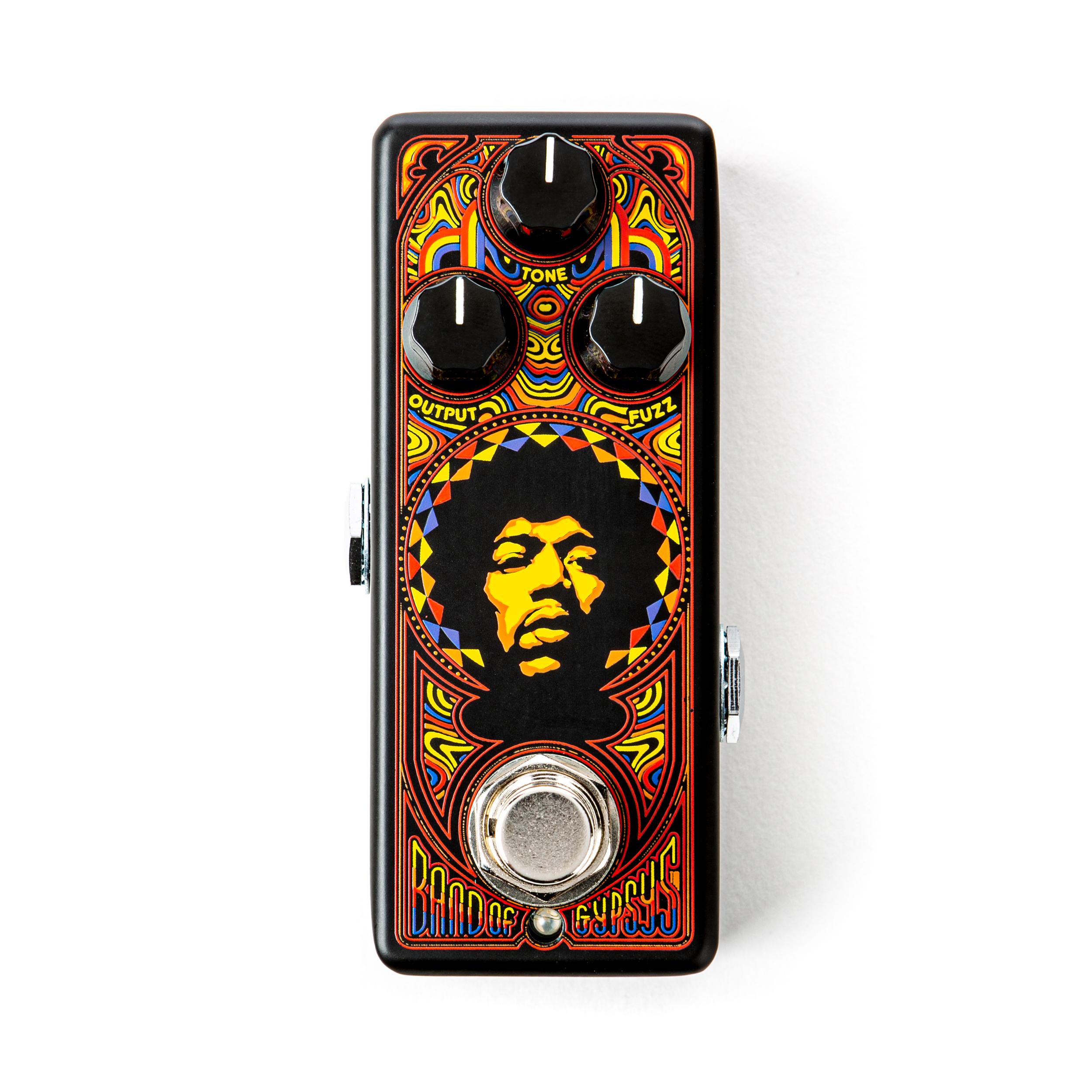 MXR JHW4 J.Hendrix B o GYPYS FUZZ Mini