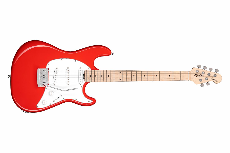 Sterling by Music Man Cutlass CT30SSS, Fiesta Red