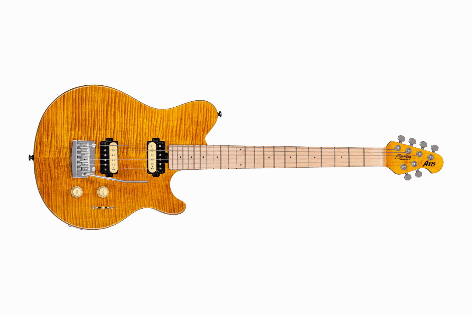 Sterling By Music Man SUB Axis, Translucent Gold