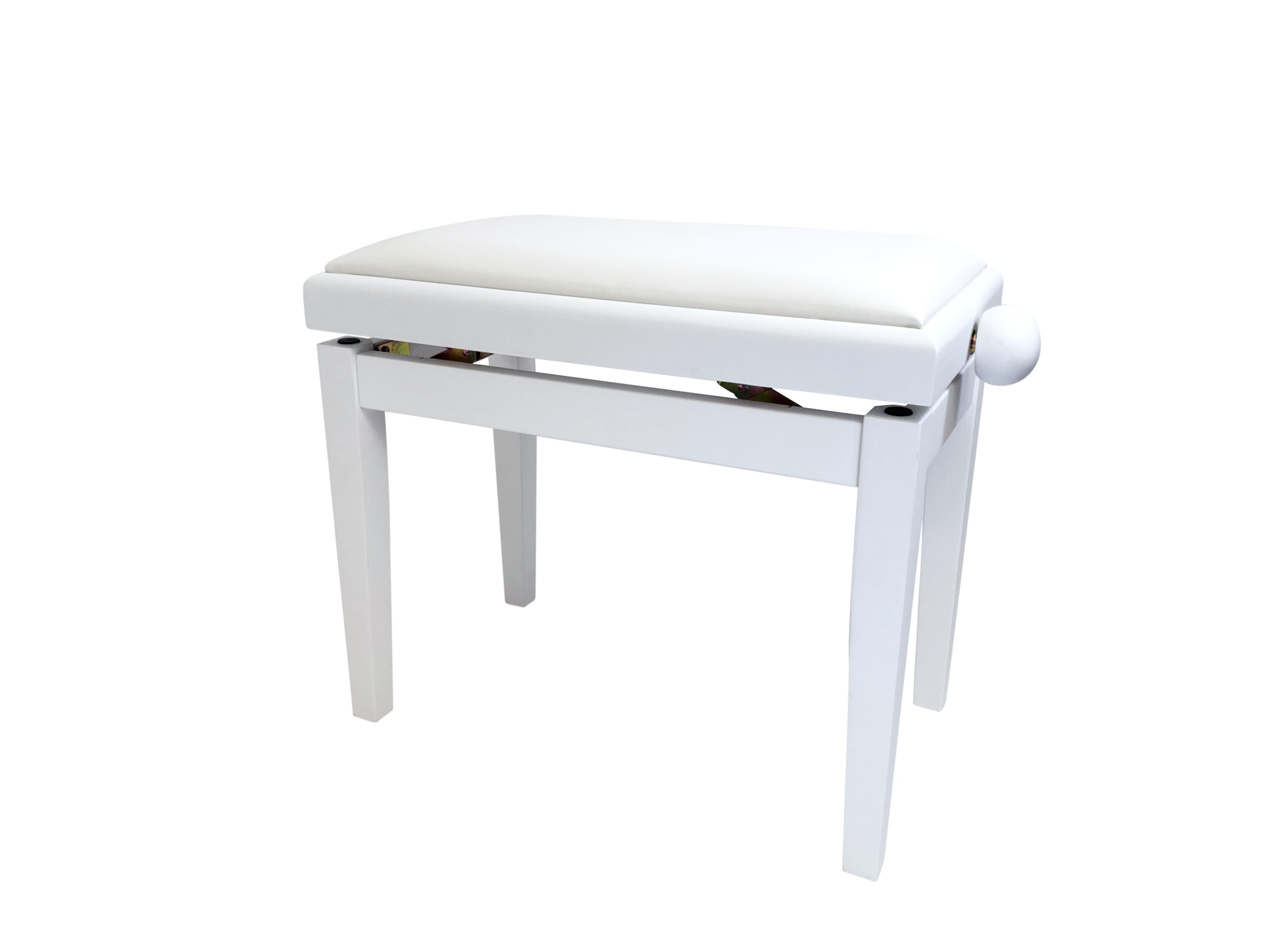 Pulse Piano Bench Deluxe vit matt