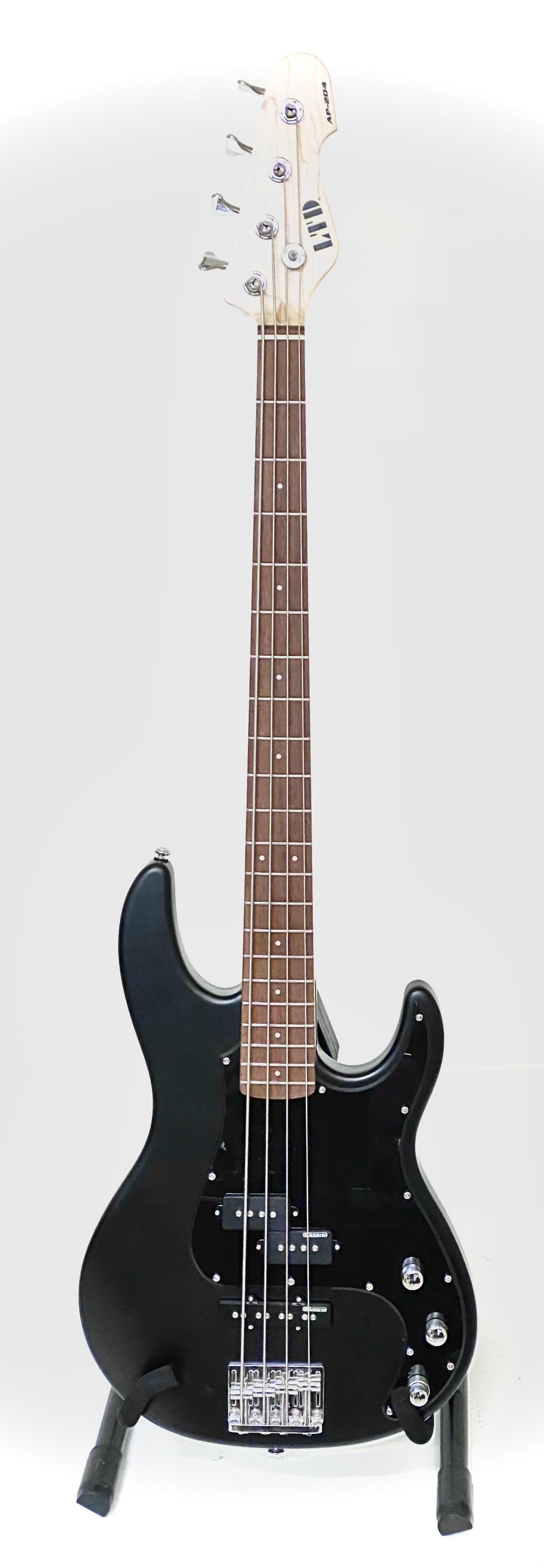 ESP LTD AP-204 Black Satin Bas