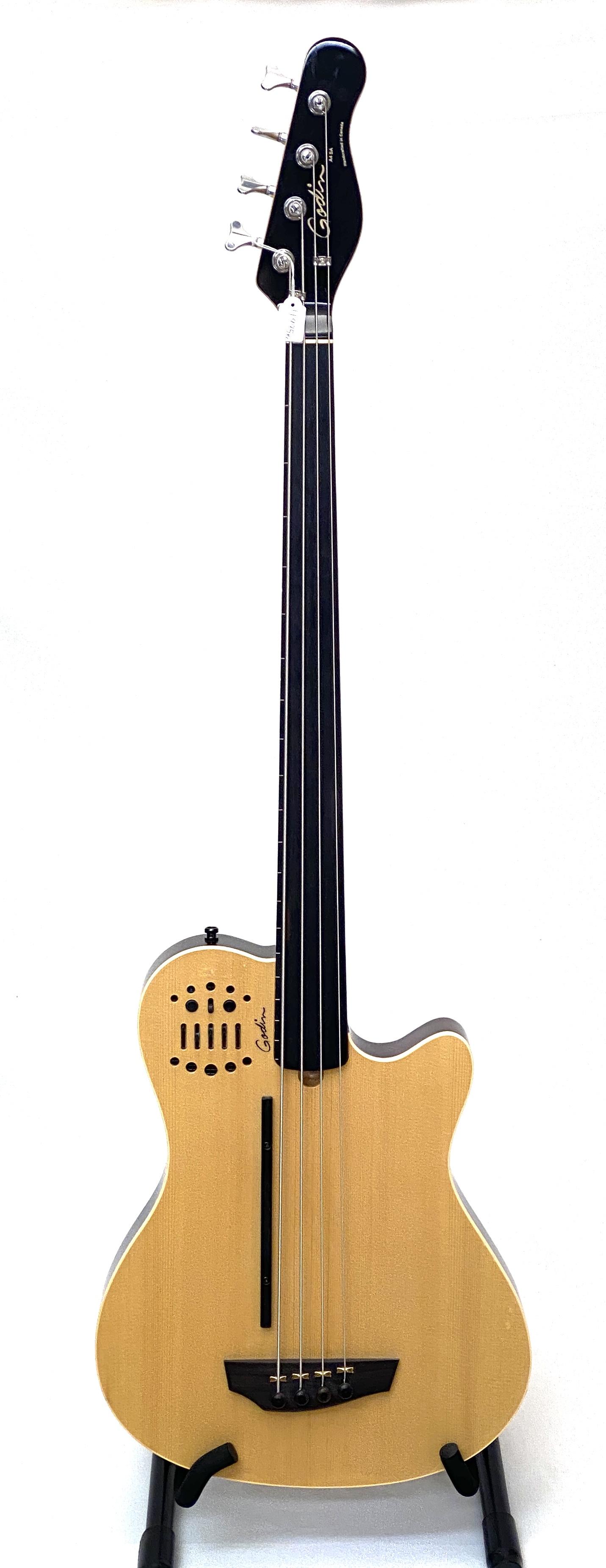 Godin A4 Fretless Bass