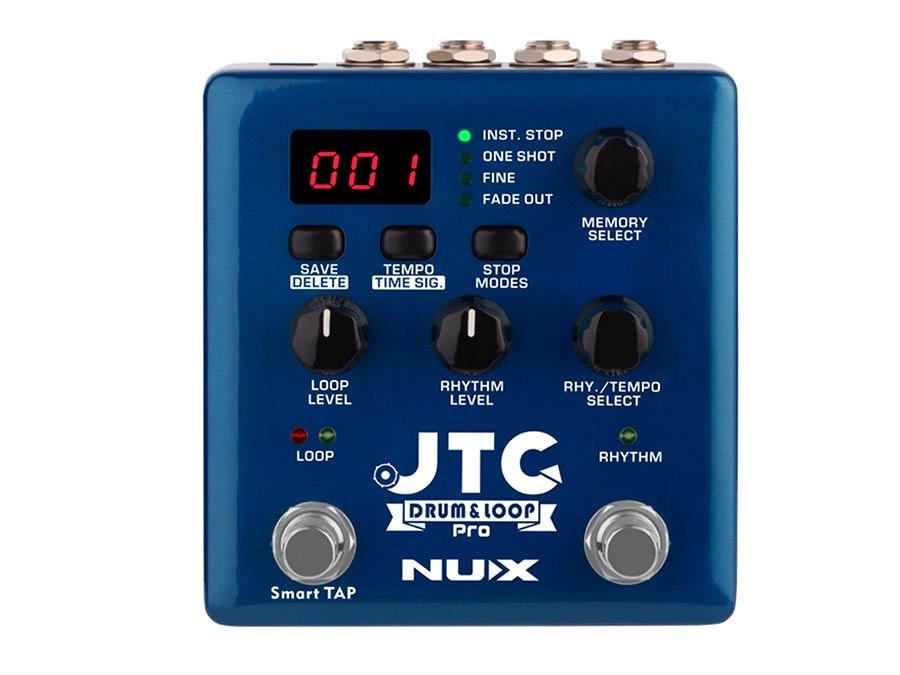NDL-5 NUX Verdugo Series dual switch looper pedal DRUM & LOOP PRO