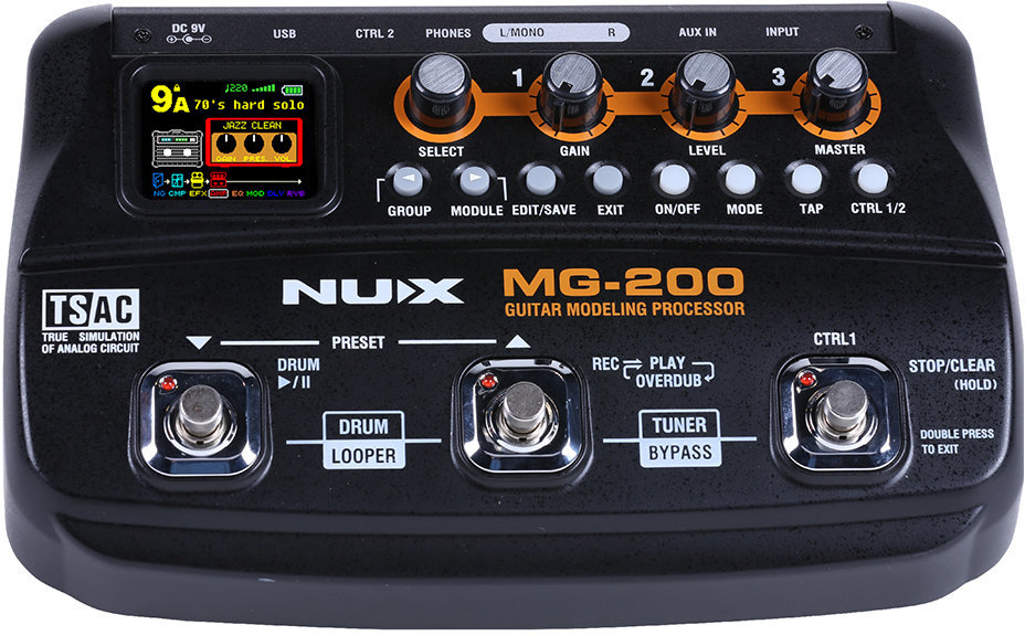 Nux MG-200 Modelling Guitar Processor