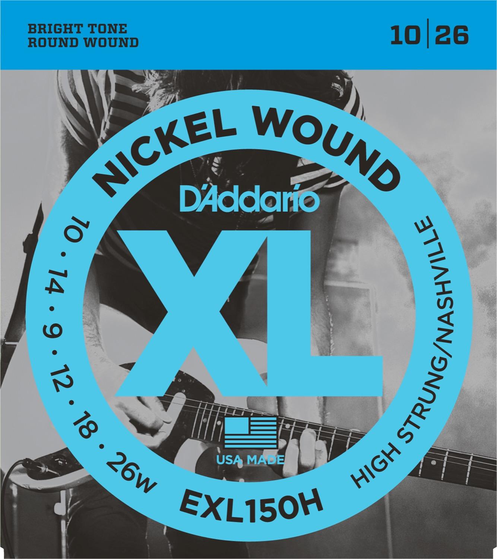 D'Addario EXL150H Nashville Tuning 10-26w