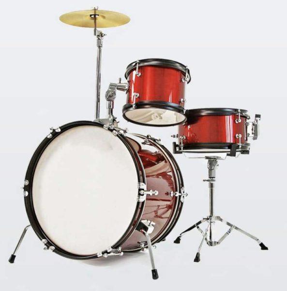 Dixon Junior Drum Set – Black