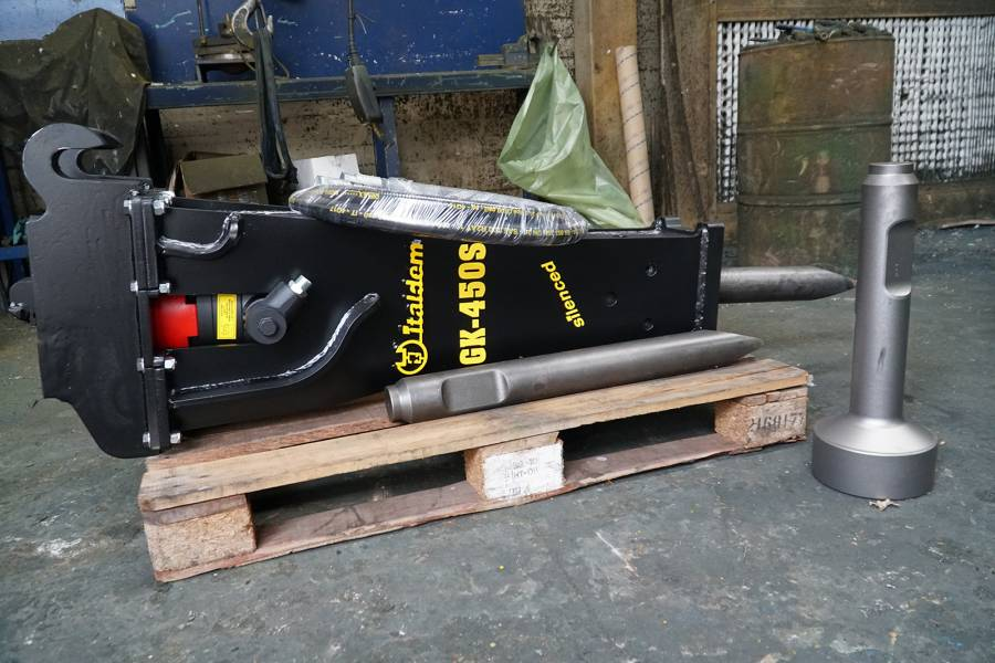 hydraulic crusher on pallet from machinery partner