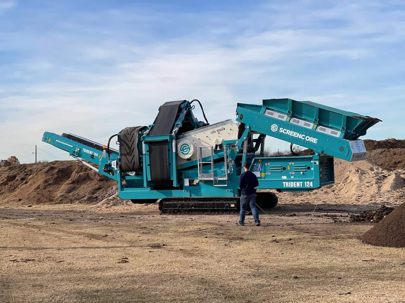 screener trident 124 on the machinery partner heavy machine marketplace