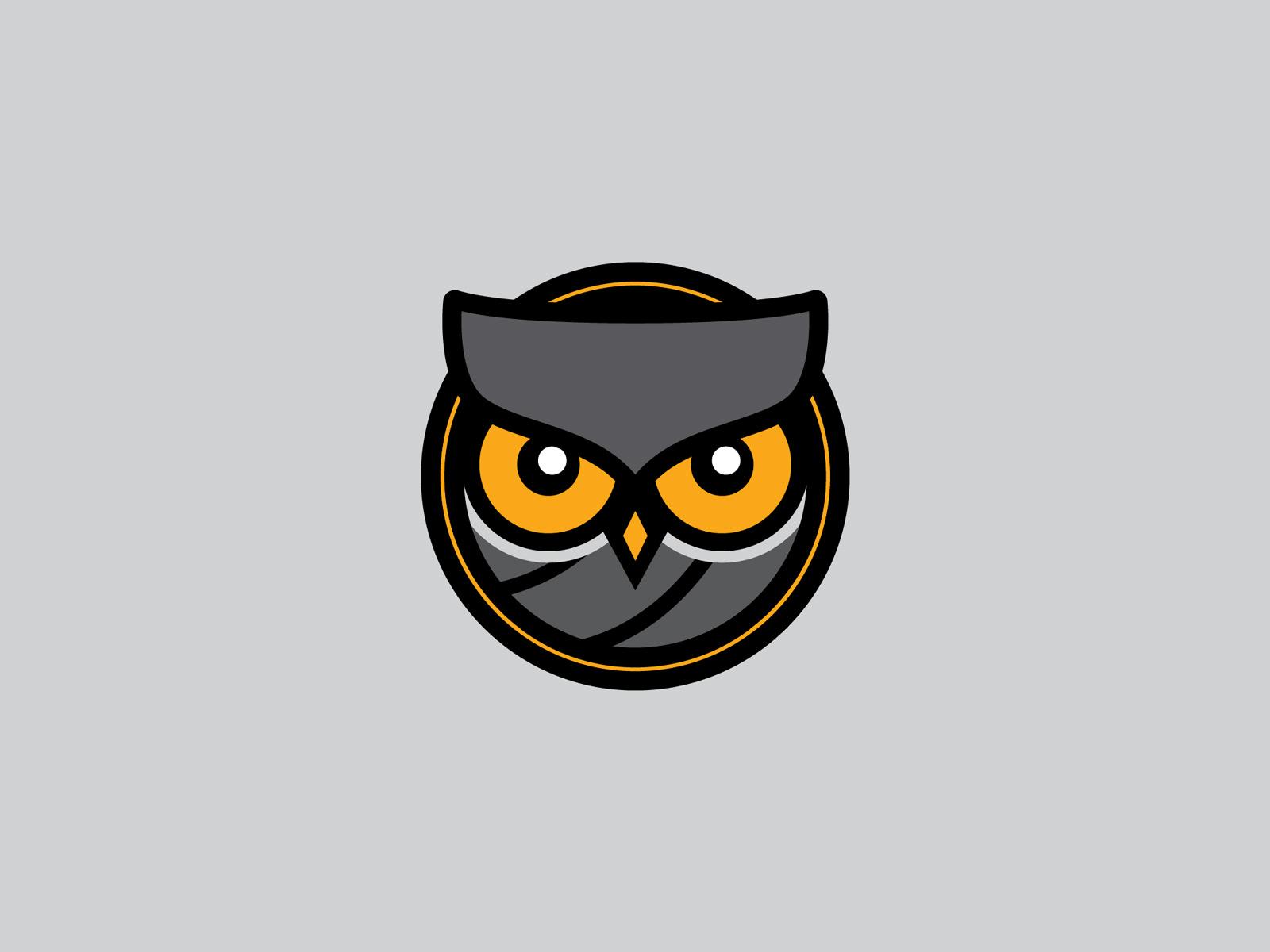 Owl volleyball logo