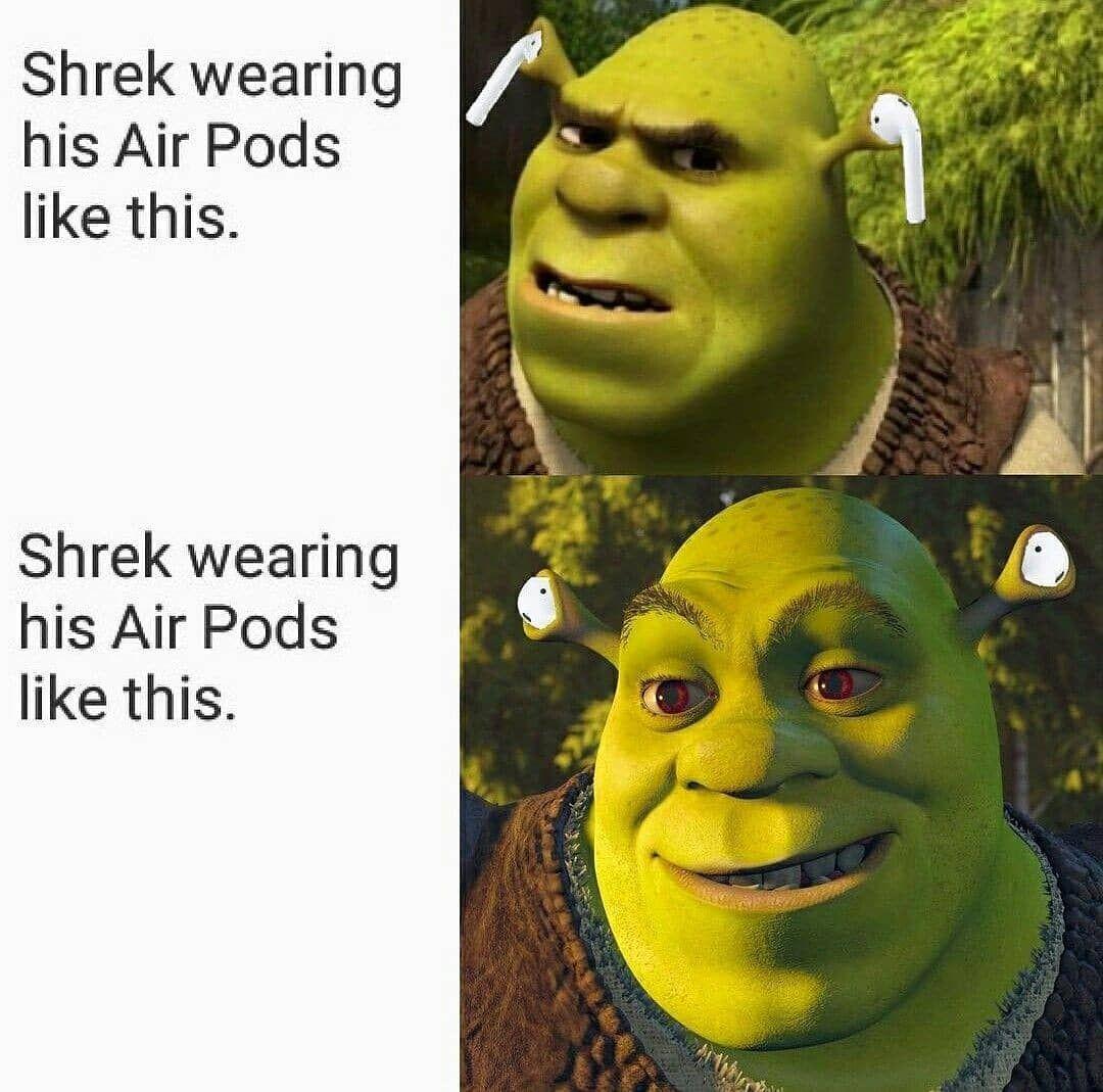 shrek-airpods-meme