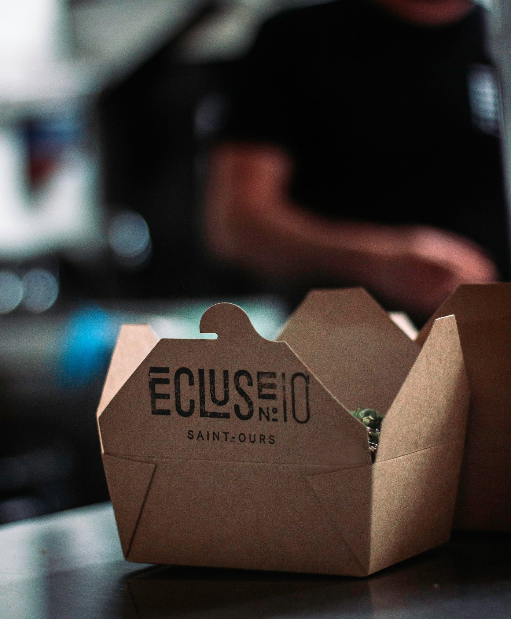 Ecluse No10 - Boîte takeout