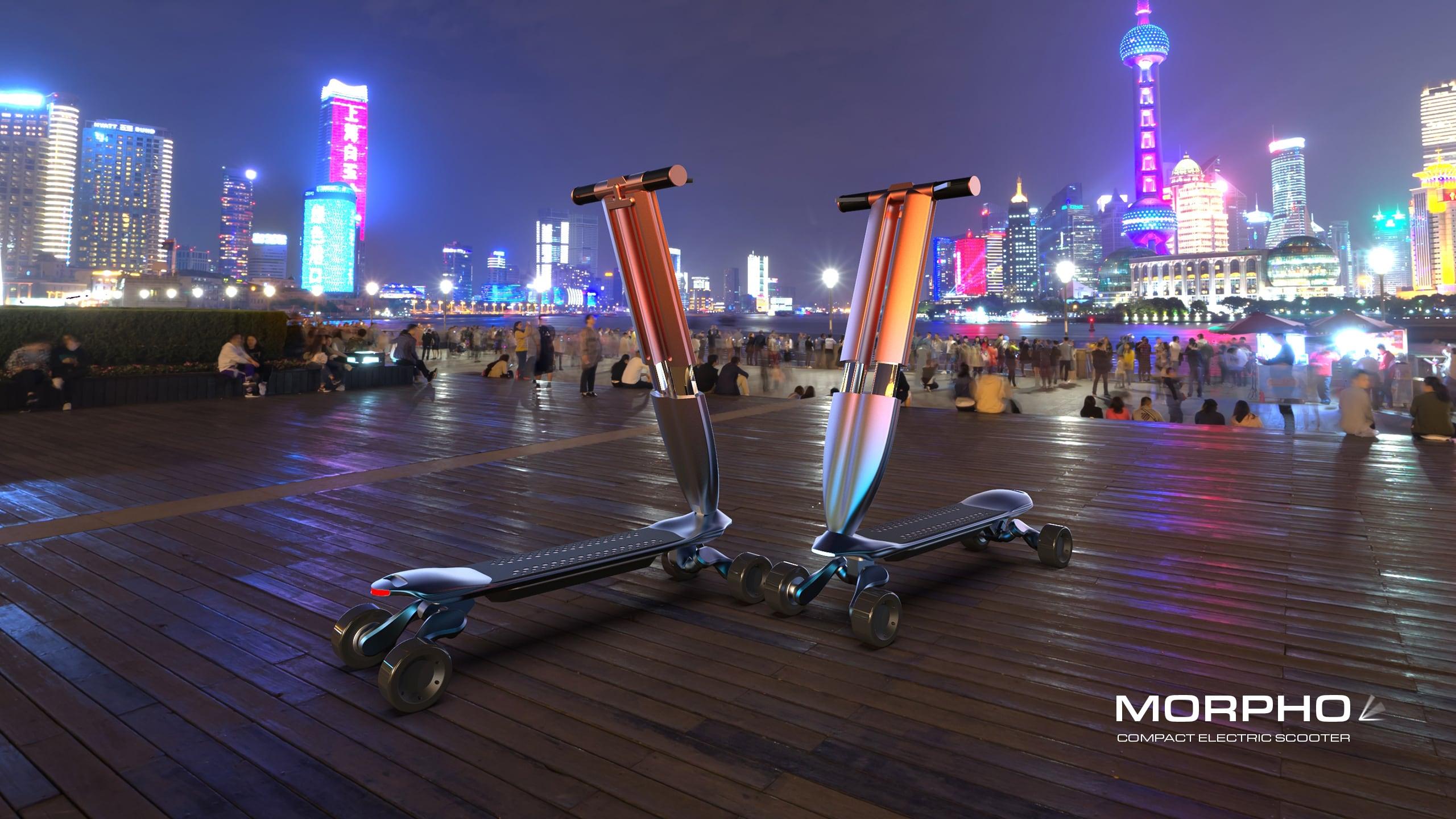 Compact E-Scooter