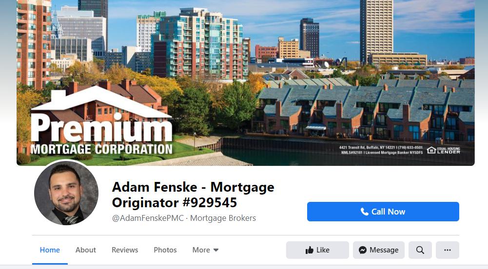 Facebook mortgage broker cover